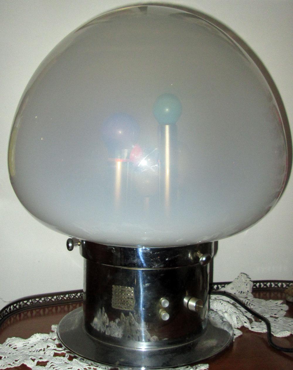lampada 1970s vintage modernariato psicadelica Selenova vintage table lamp color  eBay